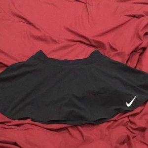 Nike Black Tennis Skirt